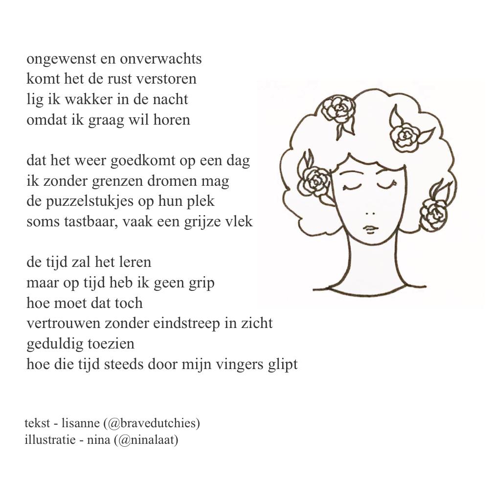 Gedichtjes Van Lisanne Bravedutchies